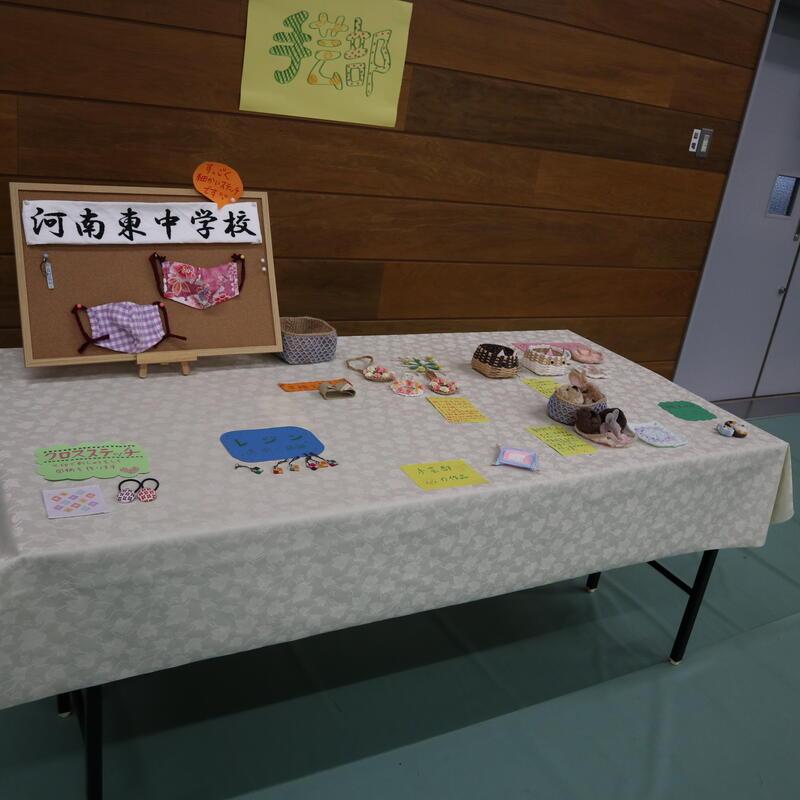 文芸部の展示