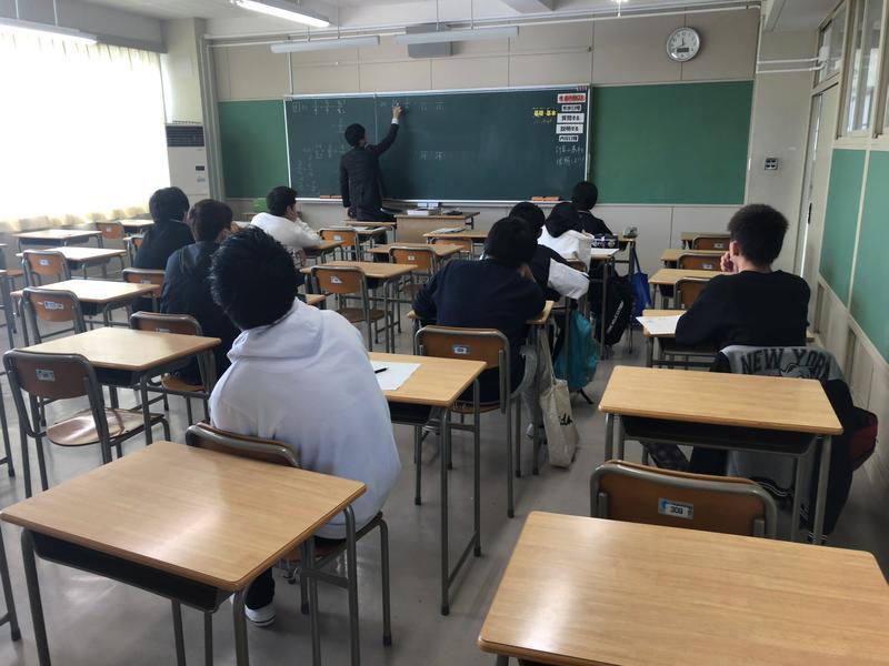 授業風景~数学Ⅰ~